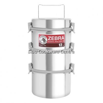 12 X 3 Smart Lock II Food Carrier With Deep Bottom